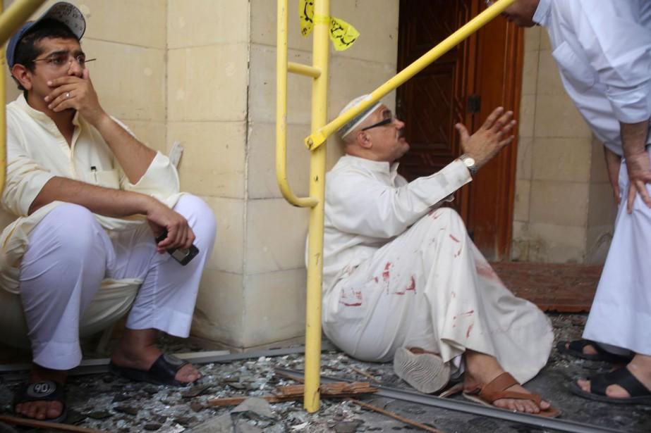 L'attentat anti-chiite, revendiqué par le groupe État islamique... (PHOTO YASSER AL-ZAYYAT, AFP)
