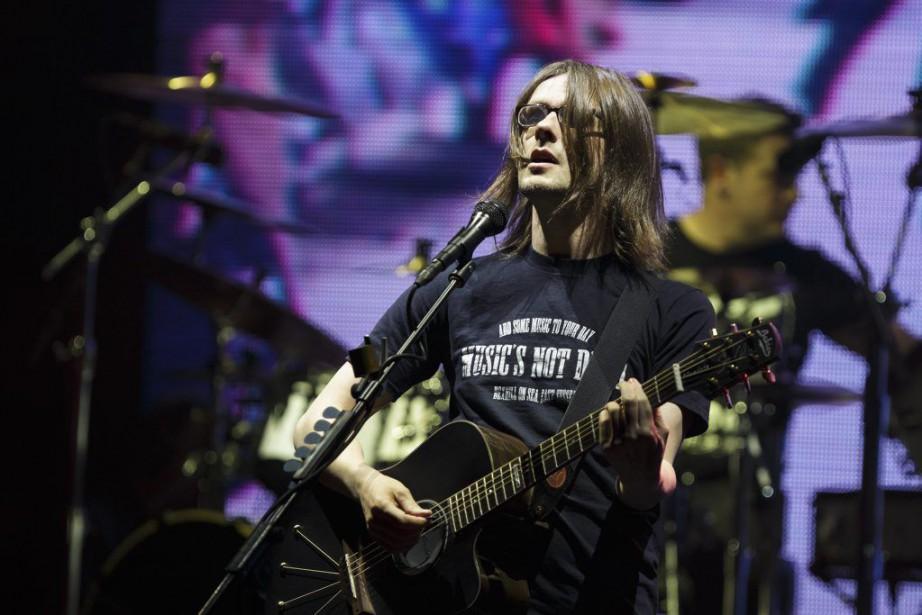 Moqueur, lyrique et polyvalent, Steven Wilson a donné...