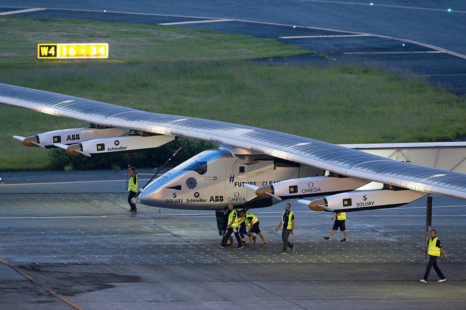 Solar Impulse 2 avait dû interrompre son vol... (PHOTO REUTERS)