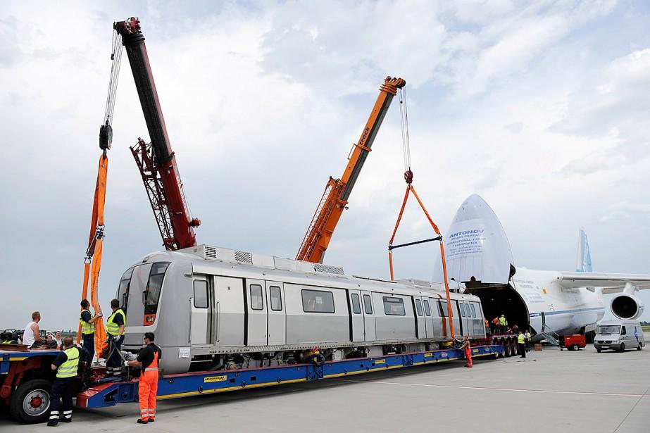 Selon la Chicago Transit Authority (CTA), Bombardier demandait... (PHOTO FLORIAN EISELE, ARCHIVES AFP)