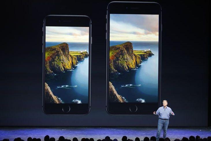 Les iPhone 6 et 6 Plus... (PHOTO STEPHEN LAM, ARCHIVES REUTERS)