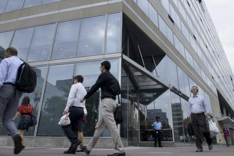 Le FMI refusait de croire au scénario du... (PHOTO BRENDAN SMIALOWSKI, AFP)