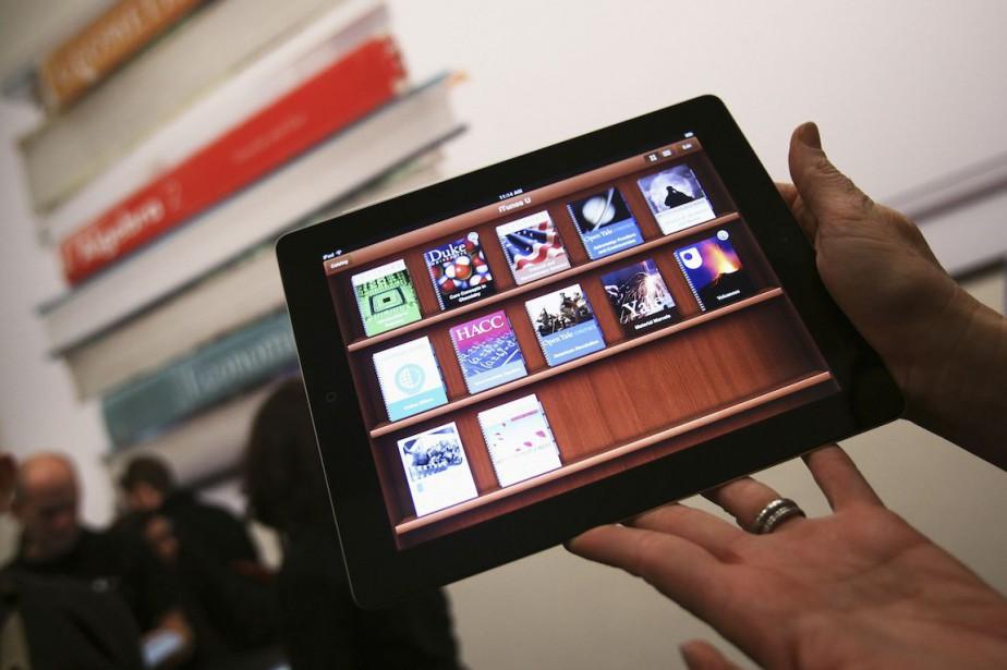 Apple a été trouvé coupable d'entente illégale avec... (PHOTO SHANNON STAPLETON, ARCHIVES REUTERS)