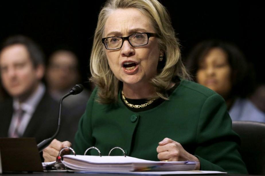 Les courriels d'Hillary Clinton sont au coeur d'une... (Photo Pablo Martinez Monsivais, archives AP)