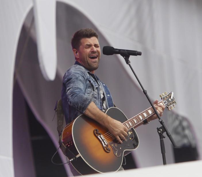 Le chanteur Marc Dupré (Simon Séguin-Bertrand, LeDroit)