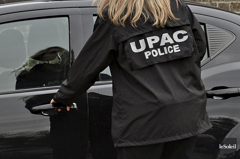 Le commissaire de l'UPAC, Robert Lafrenière, a remis... (Photothèque Le Soleil)