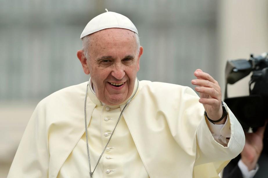 Le pape François.... (PHOTO ALBERTO PIZZOLI, AFP)