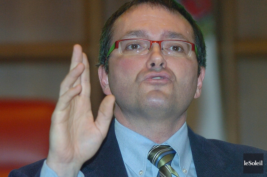 Le député fédéral de Mégantic-L'Érable, Luc Berthold.... (Photo Jean-Marie Villeneuve, archives Le Soleil)