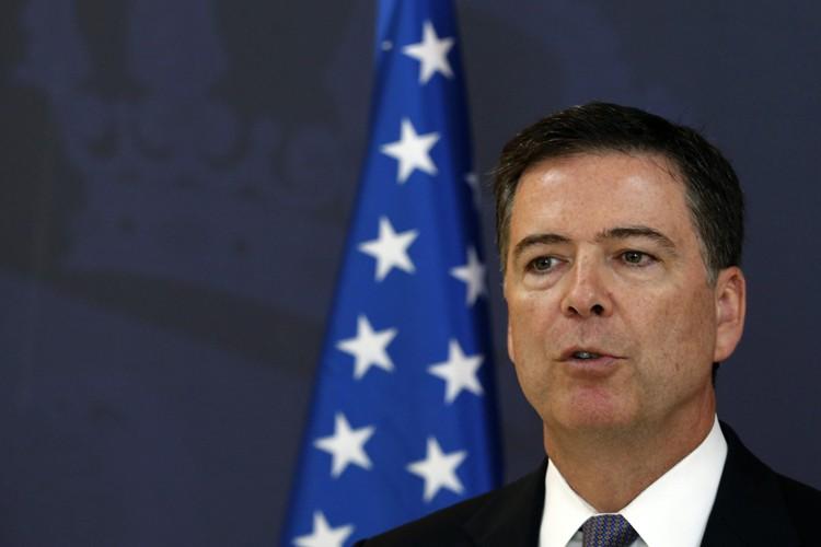 Le directeur du FBI, James Comey.... (PHOTO AP)