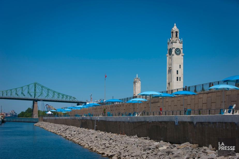 Lequai de l'Horloge,dans le Vieux-Port de Montréal, accueillera... (PHOTO ANDRÉ PICHETTE, ARCHIVES LA PRESSE)