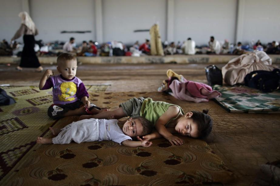 «L'eau est devenue encore plus rare et insalubre,... (Photo Muhammed Muheisen, archives AP)