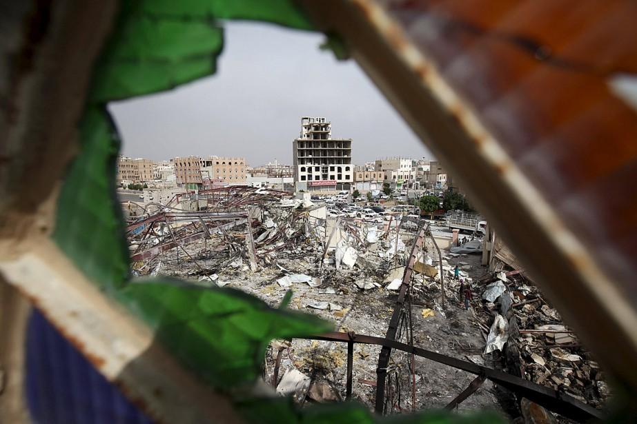 Au Yémen, 80% de la population -soit 21... (Photo Mohamed al-Sayaghi, Reuters)