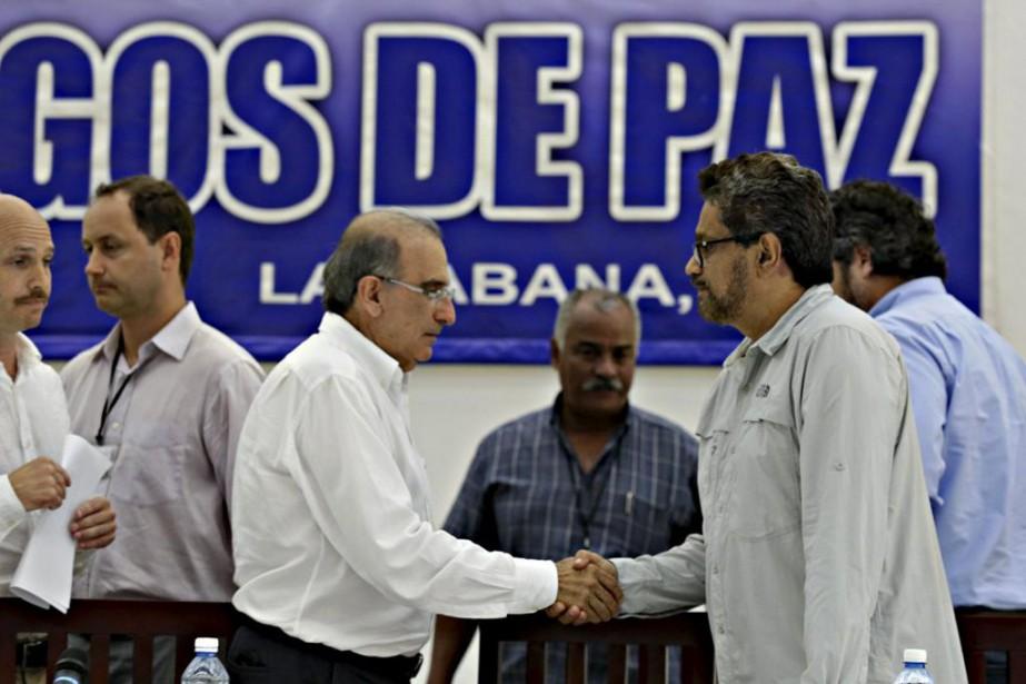 Le numéro deux des FARC et chef des... (PHOTO ENRIQUE DE LA OSA, REUTERS)
