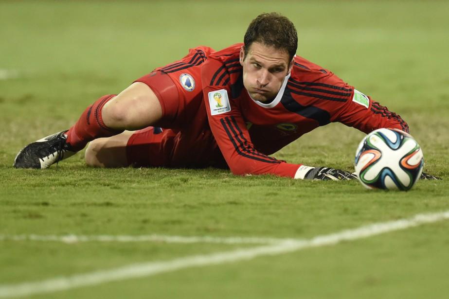 Asmir Begovic... (PHOTO JUAN BARRETO, ARCHIVES AFP)
