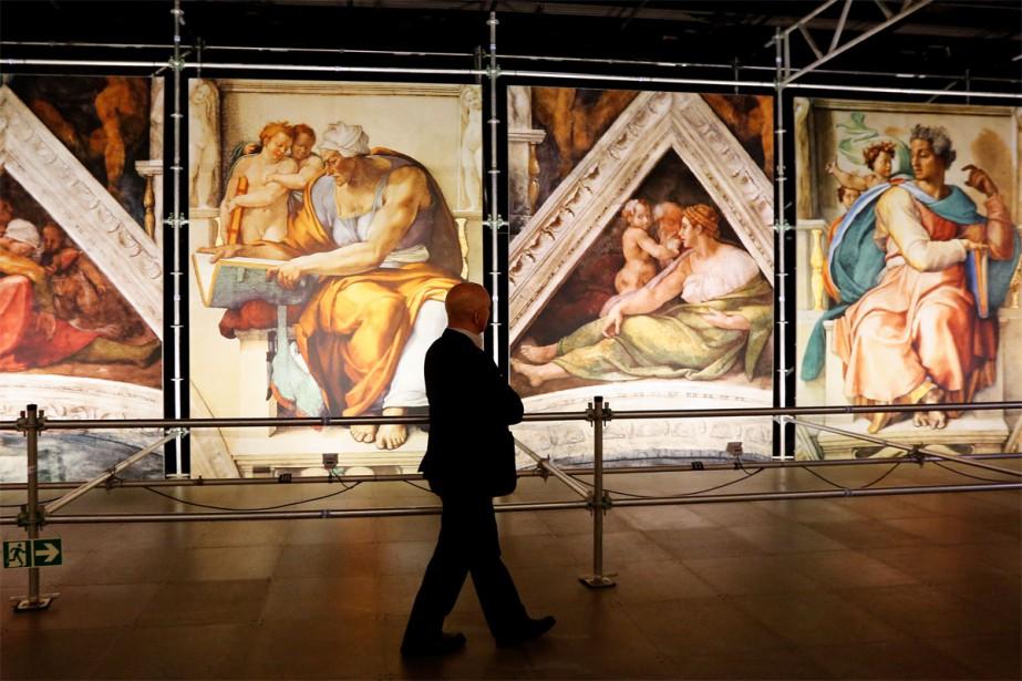 Les photos de La chapelle Sixtine de Michel-Ange:... (PHOTO FOURNIE PAR SPECIAL ENTERTAINMENT EVENTS)