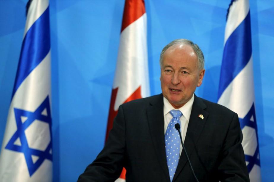 Le ministre des Affaires étrangères, Rob Nicholson.... (Photo Ammar Awad, archives Reuters)