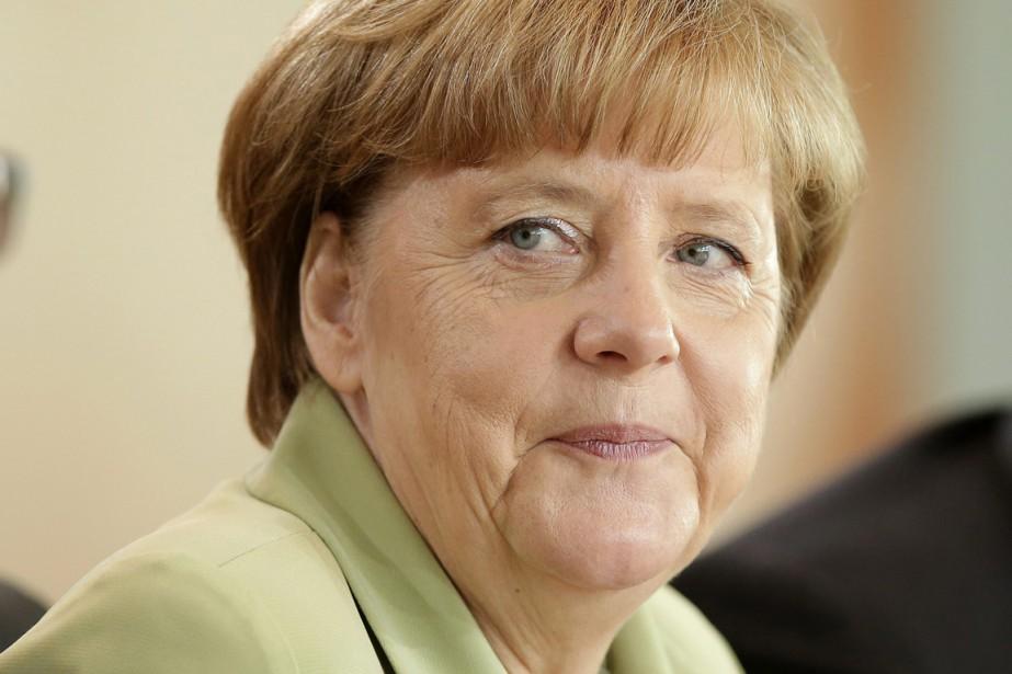 Angela Merkel... (PHOTO MICHAEL SOHN, AP)