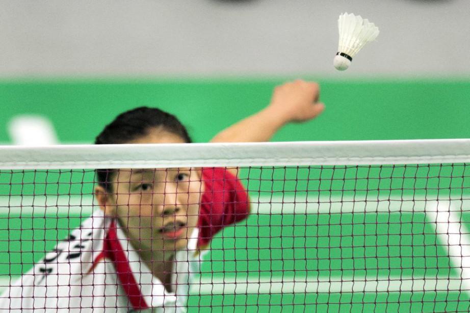 L'Ontarienne Michelle Li a défendu avec succès le... (Photo Darren Calabrese, archives PC)