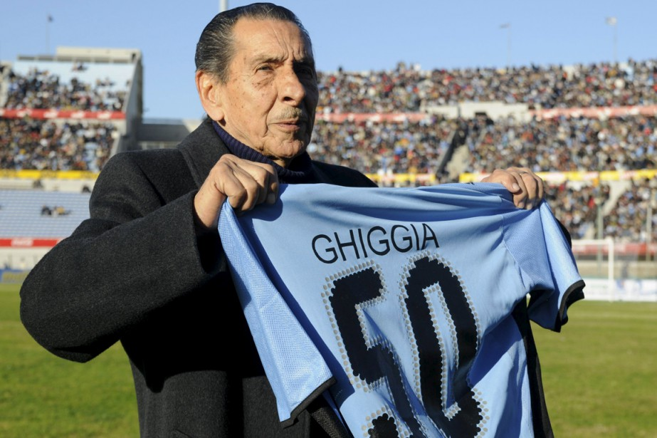 Alcides Ghiggia était âgé de 88 ans.... (Photo Pablo La Rosa, archives Reuters)