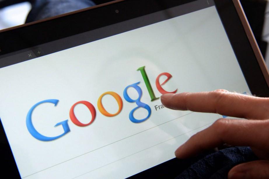 Google avait refusé fin juillet de se mettre... (Photo archives AFP)