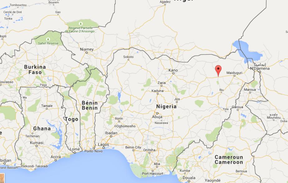 Trois mineures se sont fait exploser vendredi matin à Damaturu,... (Carte Google)