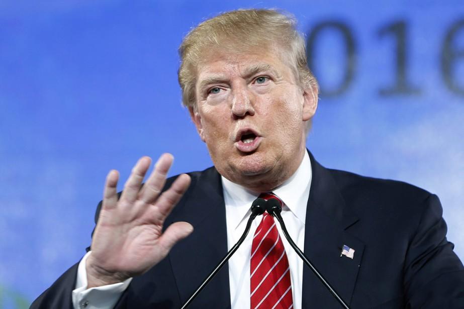 L'homme d'affaires et candidat à l'investiture républicaine Donald... (Photo John Locher, archives AP)