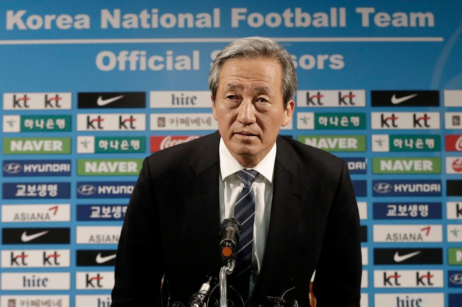 Ancien vice-président de la FIFA, Chung Mong-joonaété un... (Photo Ahn Young-joon, archives AP)