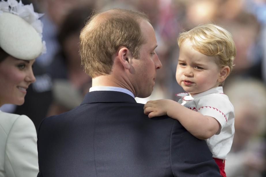 Attachés à diffuser une image de normalité, William... (PHOTO MATT DUNHAM, ARCHIVES AP)
