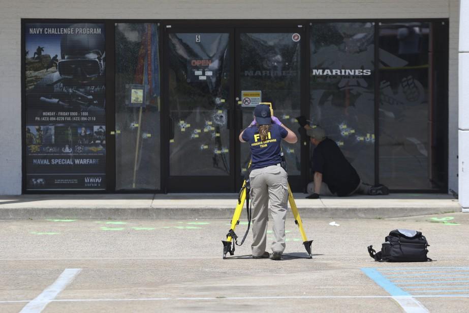 Le FBI a indiqué mercredi... (Photo Dan Henry, AP/Chattanooga Times Free Press)
