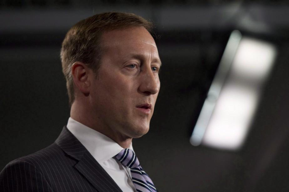Le ministre fédéral de la Justice,Peter MacKay... (PHOTO ARCHIVES LA PRESSE CANADIENNE)