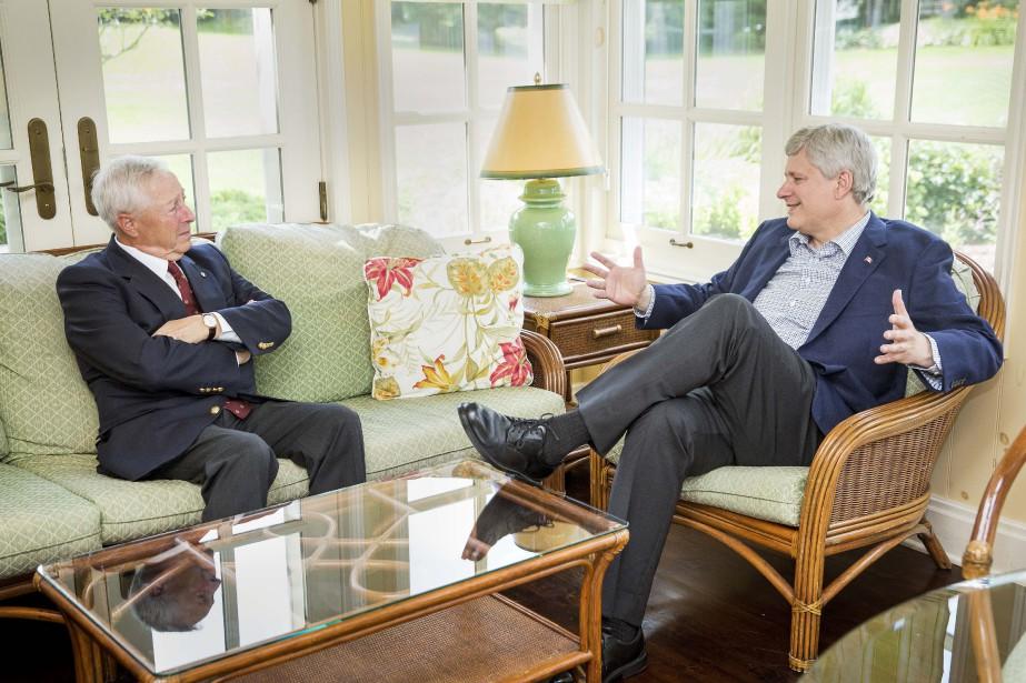 Le premier ministre Harper a annoncé mardi que... (PHOTO FOURNIE PAR LE BUREAU DU PREMIER MINISTRE)