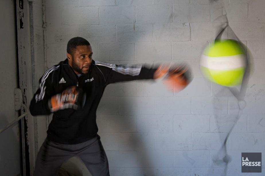 Jean Pascal à l'entraînement.... (Photo Ivanoh Demers, La Presse)