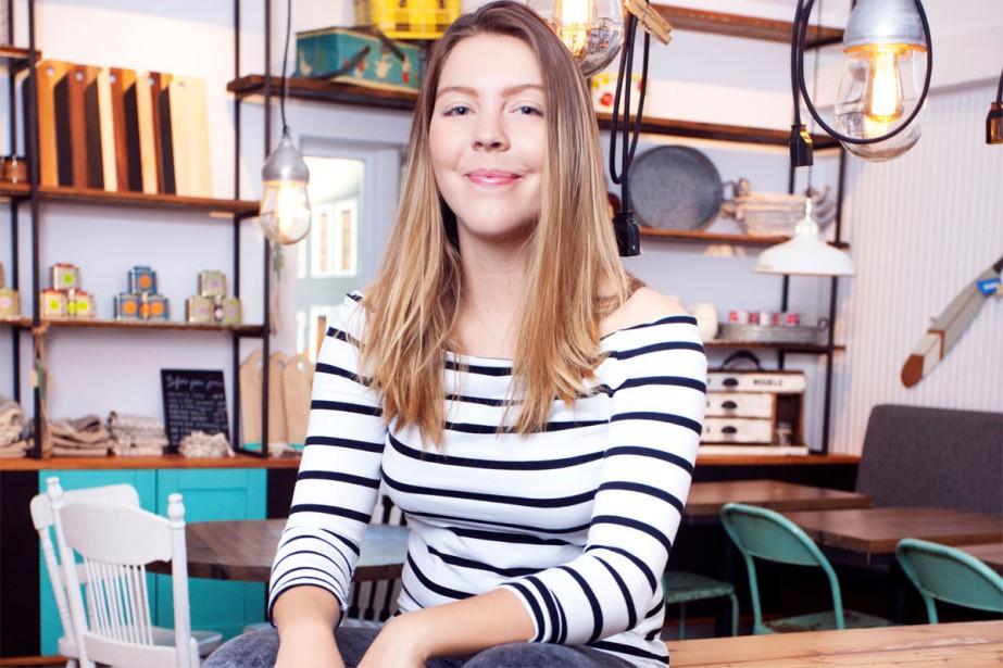 Julia De Vette... (PHOTO JéRÔME LAVALLÉE, FOURNIE PAR CAFÉ SAINT-LAURENT)