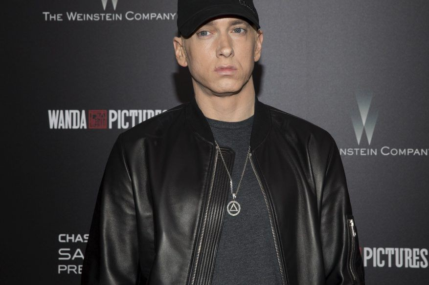 Eminem... (PHOTO REUTERS)