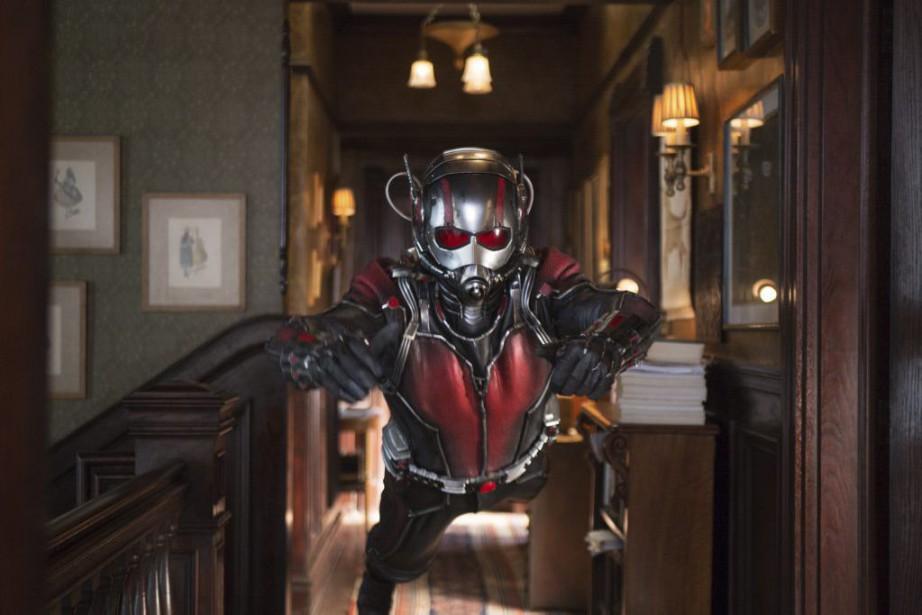 Paul Rudd dans Ant-Man... (PHOTO FOURNIE PAR MARVEL)