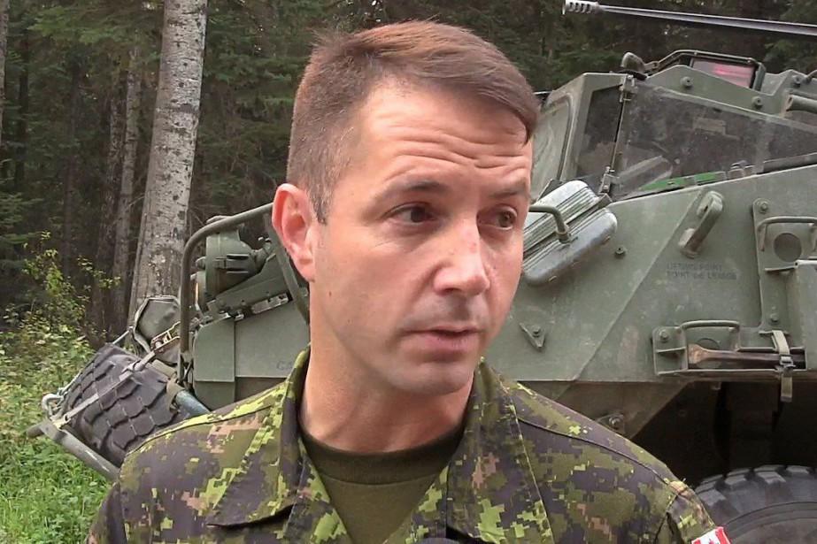 Les faits reprochés au lieutenant-colonel Stalker se seraient... (Photo Bill Graveland, La Presse Canadienne)
