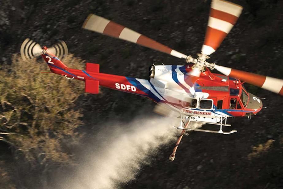 Fuji Heavy Industries construira au Japon 150 appareils... (Photo fournie par Bell Helicopter Textron)