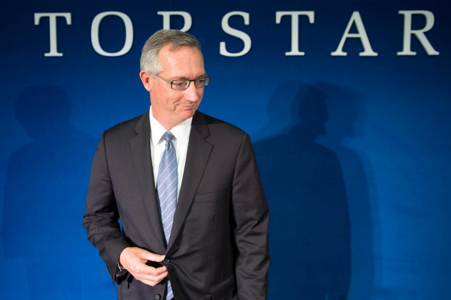 Le président deTorstar, David Holland.... (Photo Chris Young, archives PC)