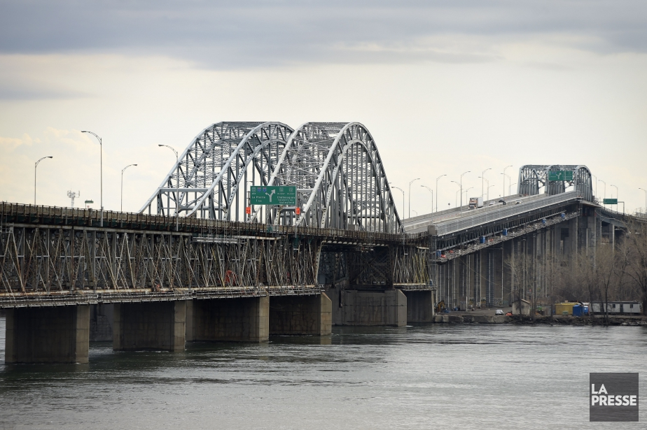 Le pont Mercier.... (PHOTO BERNARD BRAULT, ARCHIVES LA PRESSE)