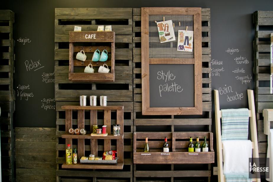 Palettes Ronic a développé la filiale Style Palette... (PHOTO DAVID BOILY, LA PRESSE)