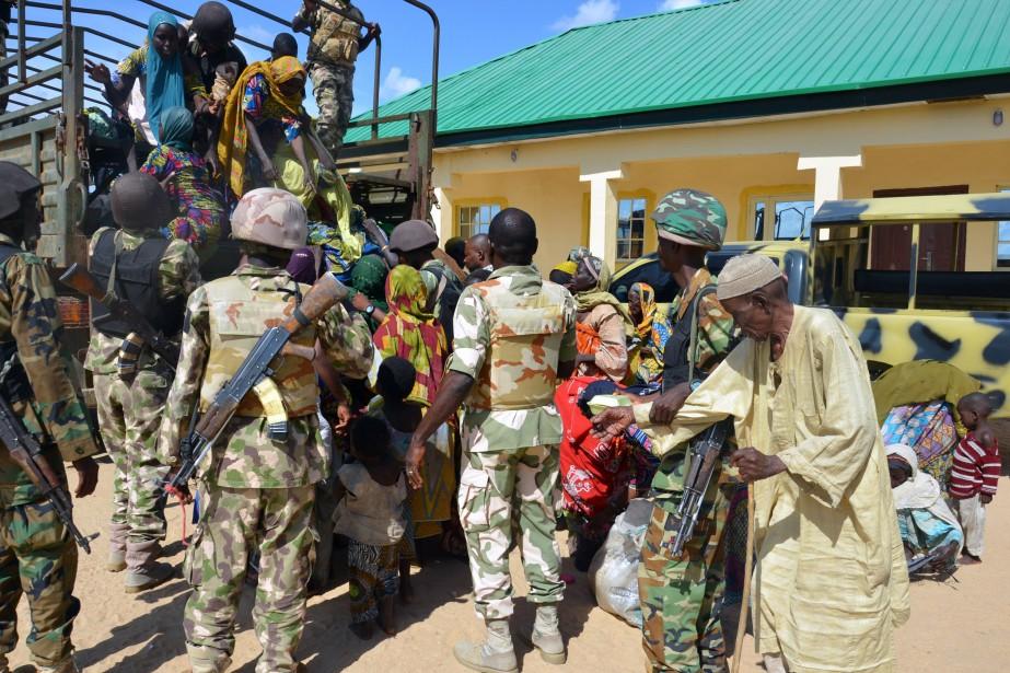 Un porte-parole de l'armée, le colonel I.T. Gusau,... (PHOTO AFP)