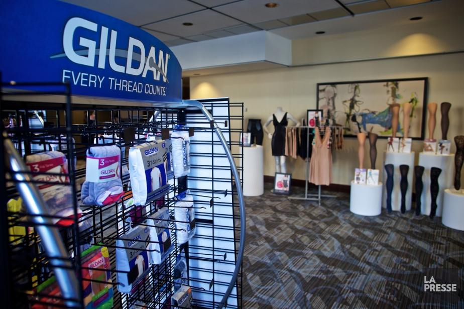 Le fabricant de vêtements Gildan a... (PHOTO ANDRÉ PICHETTE, ARCHIVES LA PRESSE)