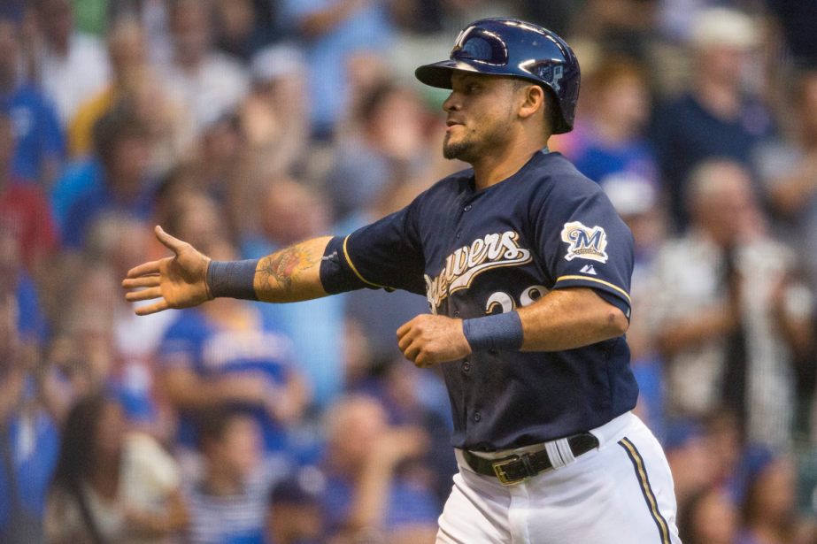 Gerardo Parra... (Photo Tom Lynn, AP)