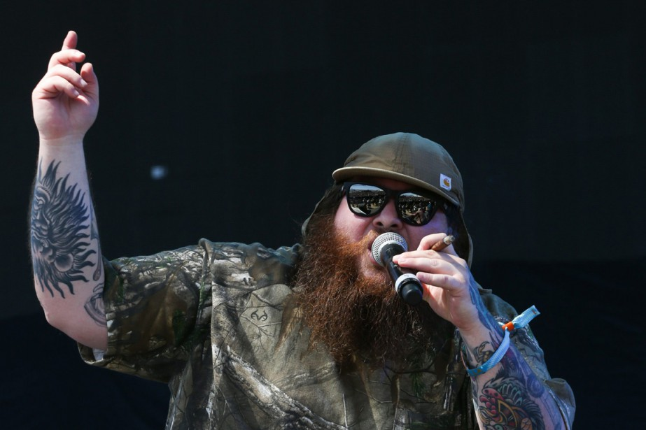 Action Bronson... (PHOTO RICH FURY, ARCHIVES AP)