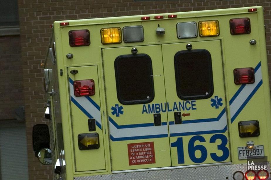 L'écrasement a fait deux blessés... (PHOTO ARCHIVES LA PRESSE)