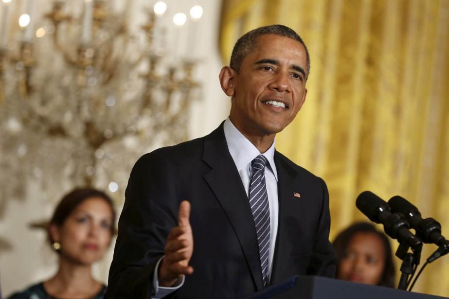 L'Union européenne a immédiatement salué le plan Obama... (Photo Jonathan Ernst, Reuters)