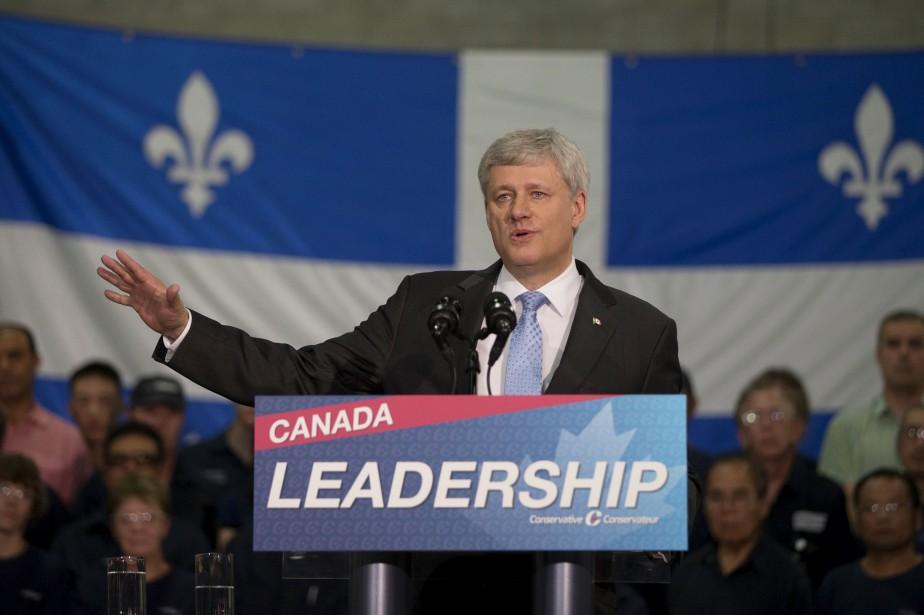 Lors de sa deuxième journée de campagne, Stephen... (Photo Christinne Muschi, Reuters)