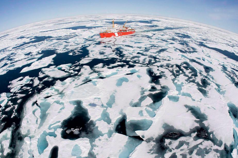 La Russie, les États-Unis, le Canada, le Danemark... (Photo Jonathan Hayward, archives PC)