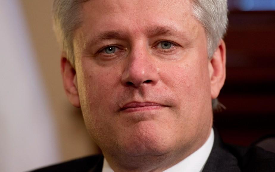 «Peut-être que M. Harper espère qu'un marathon exposera... (PHOTO ADRIAN WYLD, ARCHIVES LA PRESSE CANADIENNE)