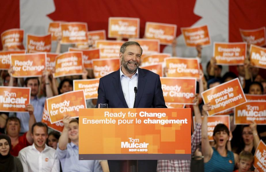 «Se pourrait-il que ce Nouveau parti démocratique n'ait... (PHOTO CHRIS WATTIE, ARCHIVES REUTERS)